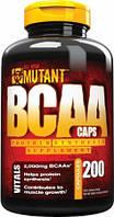 Аминокислоты BCAA аминокислоты Mutant (200 caps)