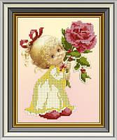 СД-214. Схема Дівчинка з трояндою