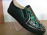 Слипоны, туфли для девочек 35-38