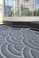 Порівняльна характеристика покриття з вібропресованої тротуарної плитки та плитки литий