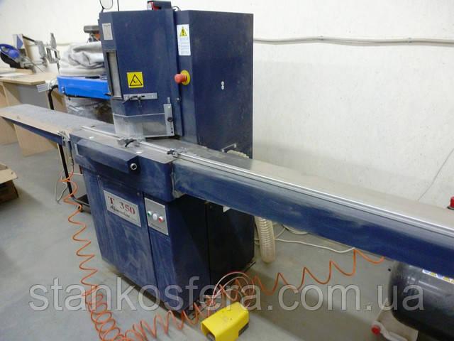 Усозарезной станок Alfamacchine T350 б/у для резки профилей и багета, 2008 года