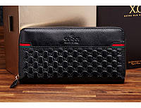 Мужской кошелек Gucci (138268) black