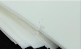Фоамиран листової 50 х 50 см, білий