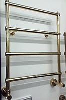 Золотой водяной полотенцесушитель Margaroli Sole 442