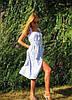 """Стильное летнее платье-сарафан в клетку """"Milada"""" с карманами (2 цвета), фото 6"""