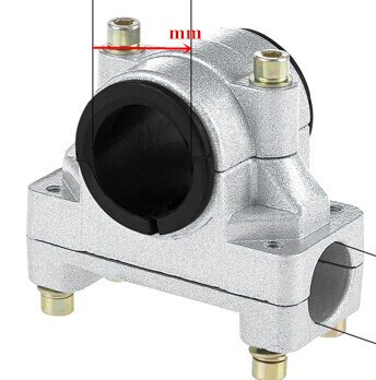 Крепление руля для китайских мотокос D=26 мм (труба, штанга)