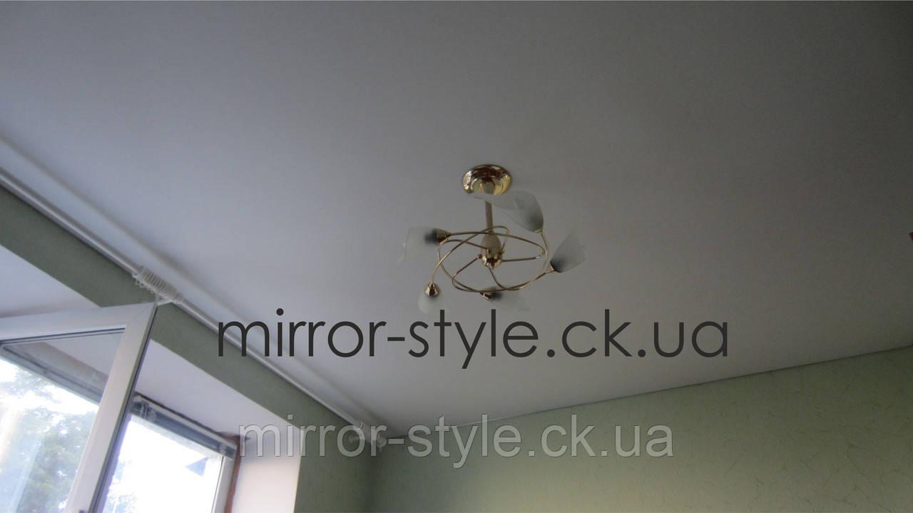 Монтаж - натяжні стелі в спальні Черкаси ціна