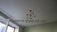 Монтаж - натяжные потолки в спальне Черкассы цена