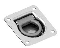 Врезное кольцо крепления  груза 95*100mm (цинк)