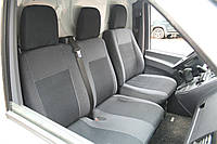 Авточехлы Classic для салона Hyundai Accent (Solaris) '11-, седан, с цельной спинкой, серая строчка