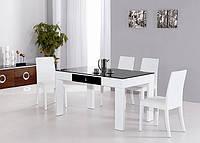 Стол MODENA, стулья RAVENA WHITE