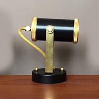 Настенно-потолочный светильник (Спот) Loft Steampunk [ Spot tube black ]