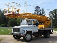Аренда автовышки АП-18 18 метров в Днепропетровске, фото 1