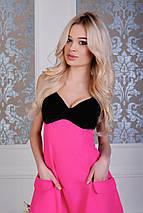 """Нарядное миди-платье """"Danielle"""" с декольте и карманами (4 цвета), фото 2"""