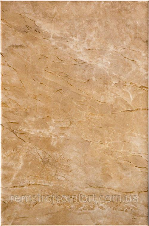 Плитка для стены InterCerama MARMOL 230х350 коричневая темная