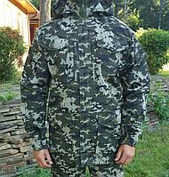 """Куртка для охоты и рыбалки """"Легион"""" камуфляж пиксель пограничник"""