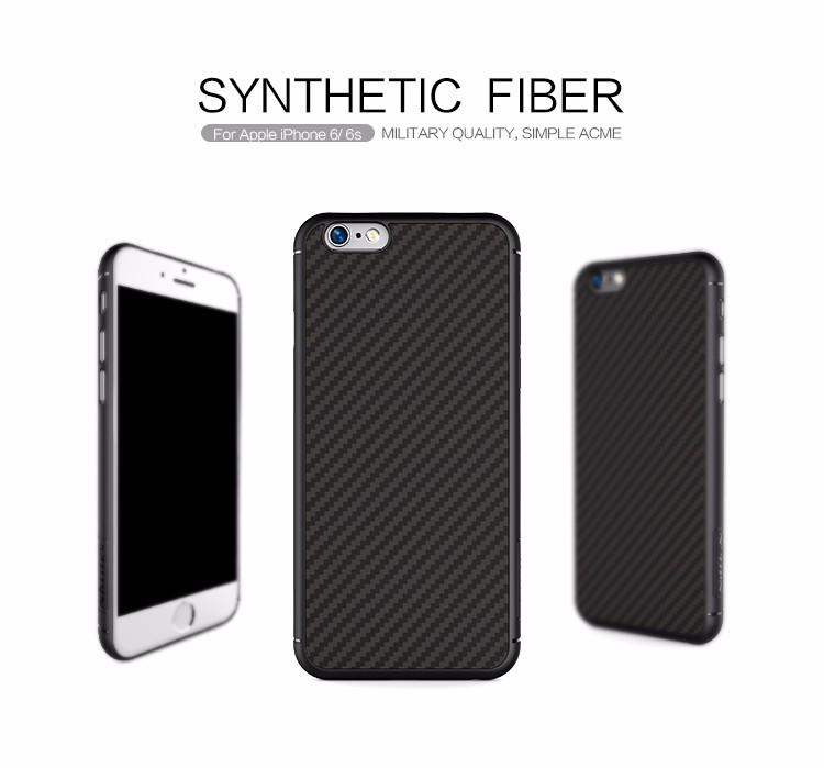 Чехол для iPhone 6 6S Nillkin Synthetic Fiber, фото 1