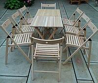 Деревянная складная мебель