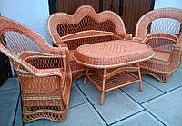 Мебель плетеная из лозы для веранд