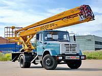 Аренда автовышки ВС-22 22 метра в Днепропетровске, фото 1