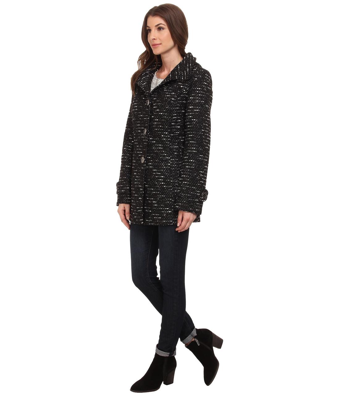 Пальто Kenneth Cole New York, M, Black/White, 175CE017