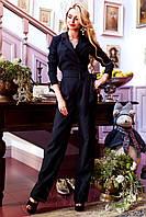 Черный женский комбинезон Деми 42-48 размеры Jadone