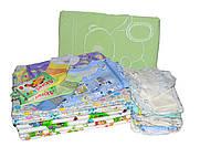 Пеленки и одежда для новорожденного (набор в роддом)