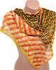 Яркий женский шифоновый шарф размером 50*160 см Подиум 10995-15 (разноцветный)