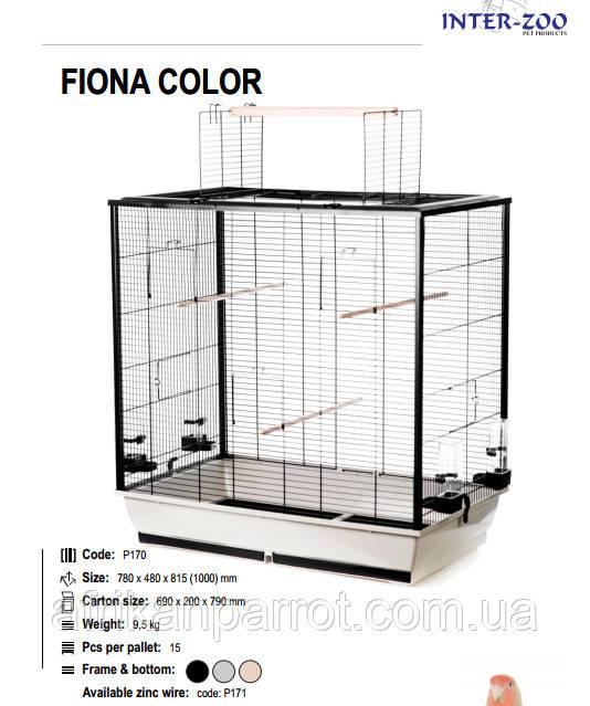 INTERZOO Клетки для птиц FIONA 78*48*81,5