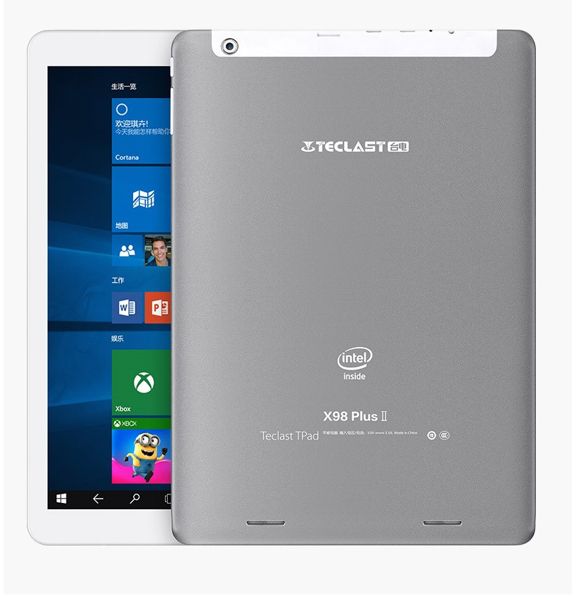 Планшет Teclast X98 Plus II DualBoot Atom Z8300 4Gb 64Gb HDMI Android + Windows 10