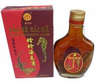 Настойка рисовая водка с гекконом и морским коньком