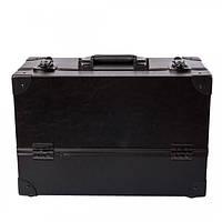 Алюминиевый кейс для косметики - CaseLife A-61 Черный Матовый - A61-BLACK-M