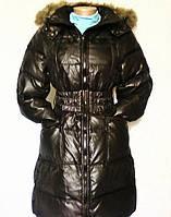 Пуховик - пальто женский натуральный, Италия, р.42,44,46