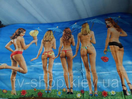 Пляжное полотенце-подстилка Девченки