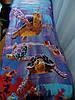 Пляжное полотенце-подстилка Черепахи (100х170 см)