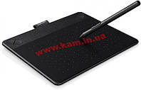 Графический планшет WACOM Intuos Comic Creative Pen&Touch Tablet S Black, CTH-490CK-N (CTH-490CK-N)