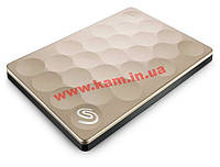 Жесткий диск Seagate Backup Plus Ultra Slim 1TB STEH1000201 2.5 USB 3.0 Gold (STEH1000201)
