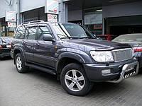Расширители колесных арок 8 частей для Toyota Land Cruiser 100 1998-2007