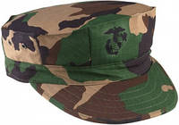 Кепка Ultra Force™ Utility Cap R/S - Woodland Camo w/ G&A