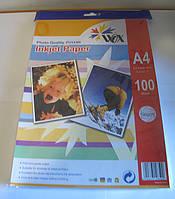 Фотобумага матовая WOX,A-4 130г\м2 ( 100 листов)