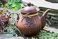 Чайник большой глиняный