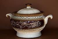 Супник керамический, роспись