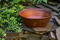 Миска глинянная