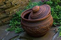 Супник гончарный, красная глина