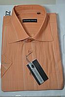 Рубашка с коротким рукавом 100% лен