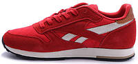 Мужские кроссовки Reebok Classic Leather Utility Red, рибок классик