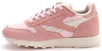 Женские кроссовки Reebok Classic Leather Pestel Pack Pink, рибок классик