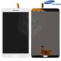 Дисплей + сенсор (touchscreen) для Samsung Galaxy Tab 4 7.0 T230/T231/T235 (Wi-Fi), оригинальный (белый)