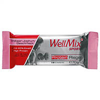 WellMix Sport  Protein Riegel Erdbeer-Joghurt Geschmack - Протеиновый батончик с вкусом клубники 70 г