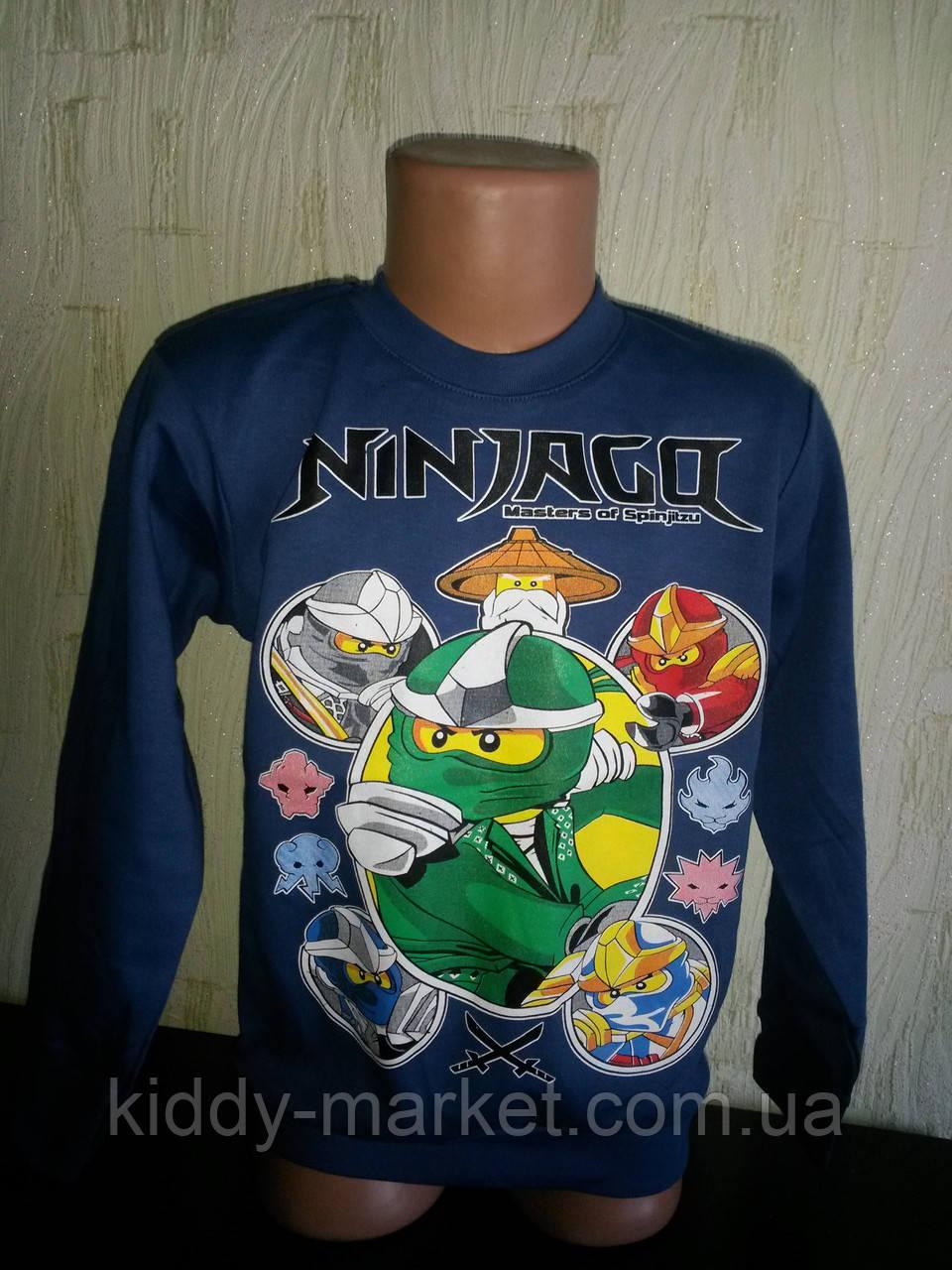 Джемпер  для мальчика Ниндзя го. Ninjago,Нинзяго 3-5  лет